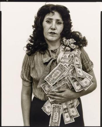 Petra Alvarado, factory worker, El Paso , Tx The Richard Avedon Foundation