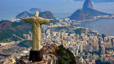 Post card Rio, Brazil
